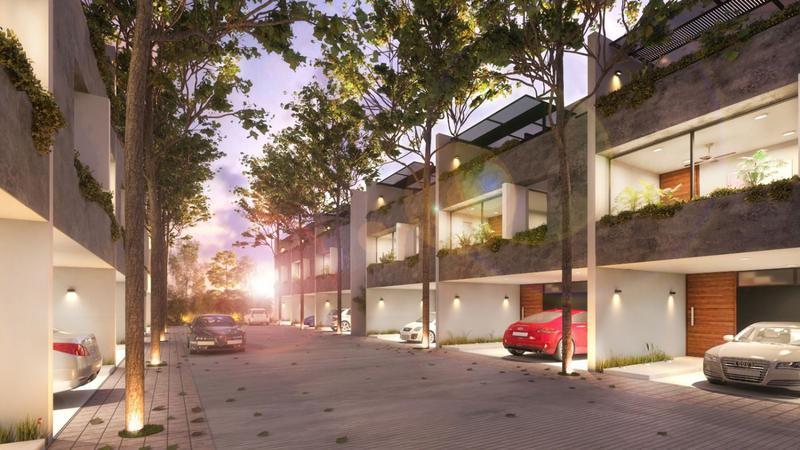 Foto Casa en condominio en Venta en  Benito Juárez Nte,  Mérida   EXCLUSIVOS TOWNHOUSES VÍA BALANDRA EN BENITO JUAREZ NORTE