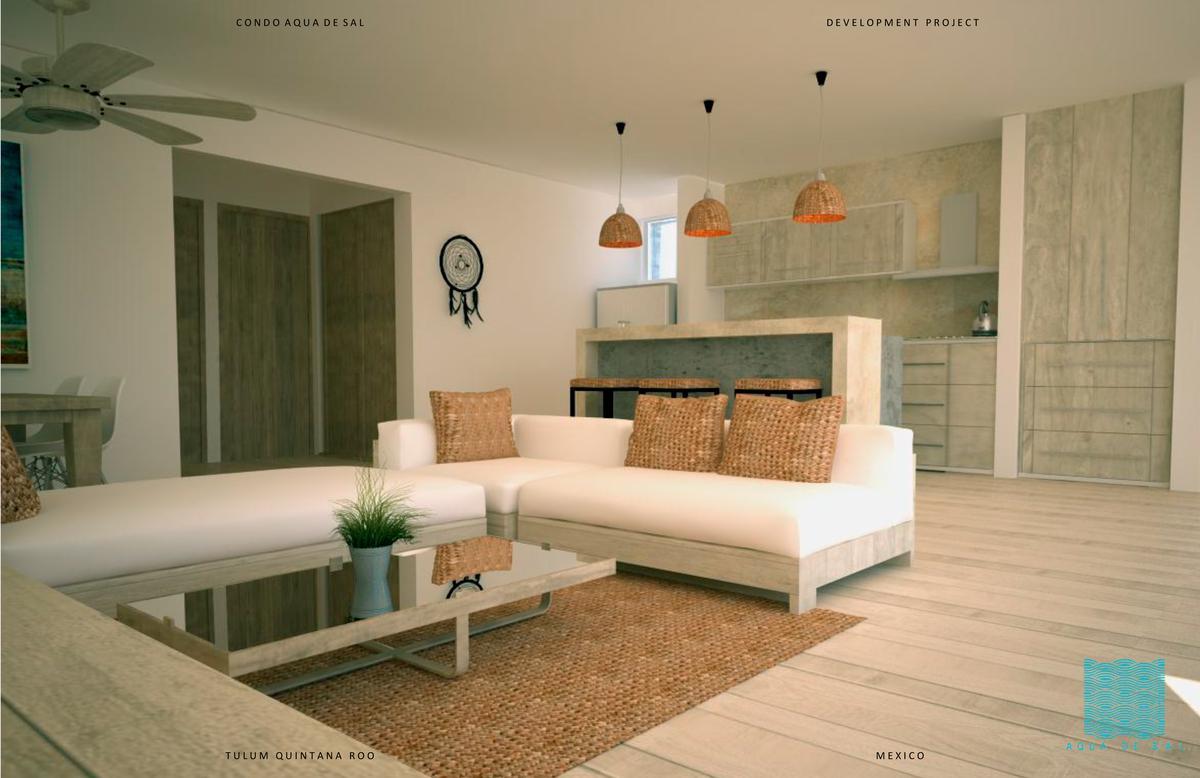 Picture Apartment in Sale in  Tulum ,  Quintana Roo  New apartment with 2 bedroom in Aqua de Sal in Tulum, Quintana Roo | Code 307