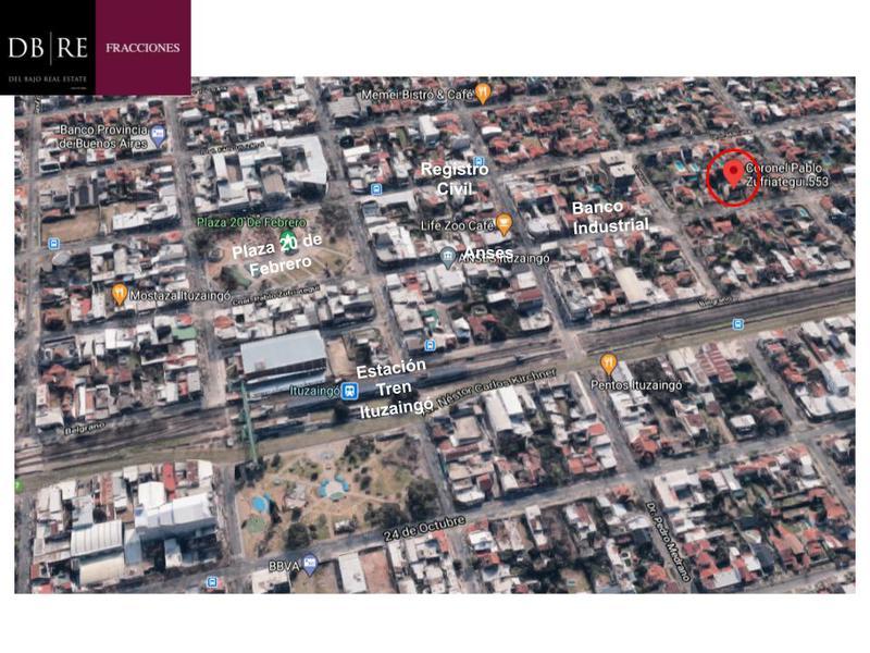 Foto Terreno en Venta en  Ituzaingó Centro,  Ituzaingo  Venta Terreno Ituzaingo Zufriategui al 500