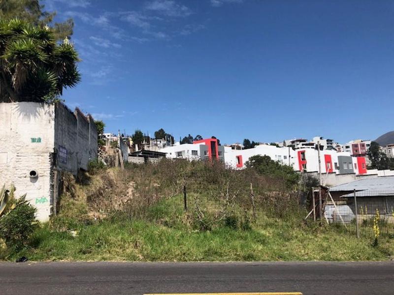Foto Terreno en Venta en  Norte de Quito,  Quito  Terreno  Carretas, Sector en desarrollo 1.641m2