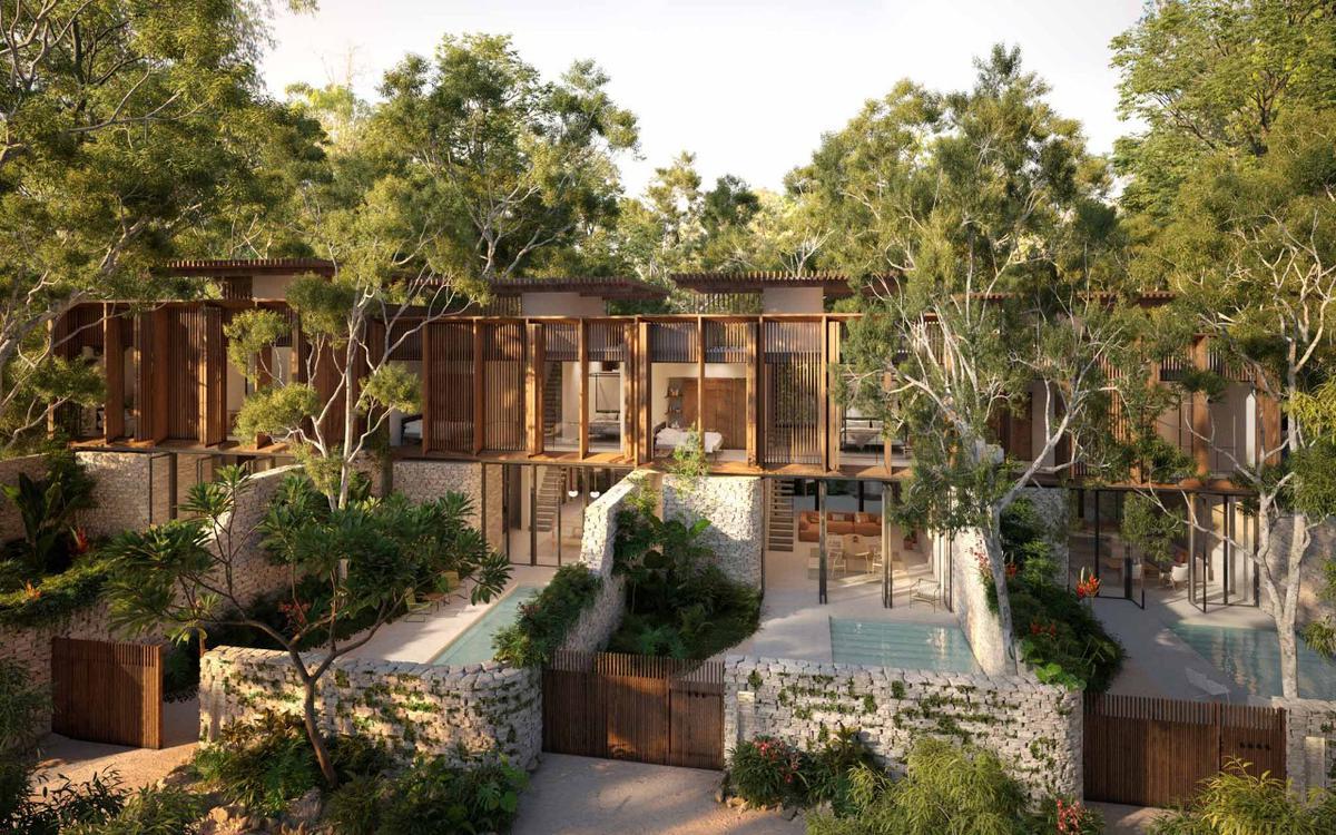 Foto Casa en Venta en  Tulum,  Tulum  Vivir en la Jungla | Casas | 3 HAB | Alberca | Jardín Tropical |  Árboles Frutales | Tulum