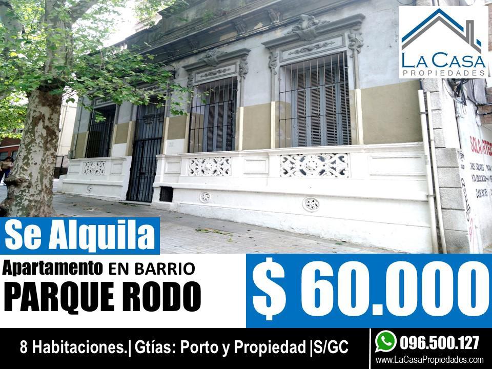 Foto Casa en Alquiler en  Parque Rodó ,  Montevideo  Jackson al 900