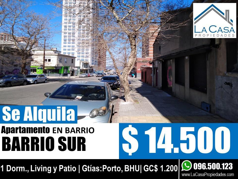Foto Apartamento en Alquiler en  Centro,  Montevideo  Paraguay al 1000