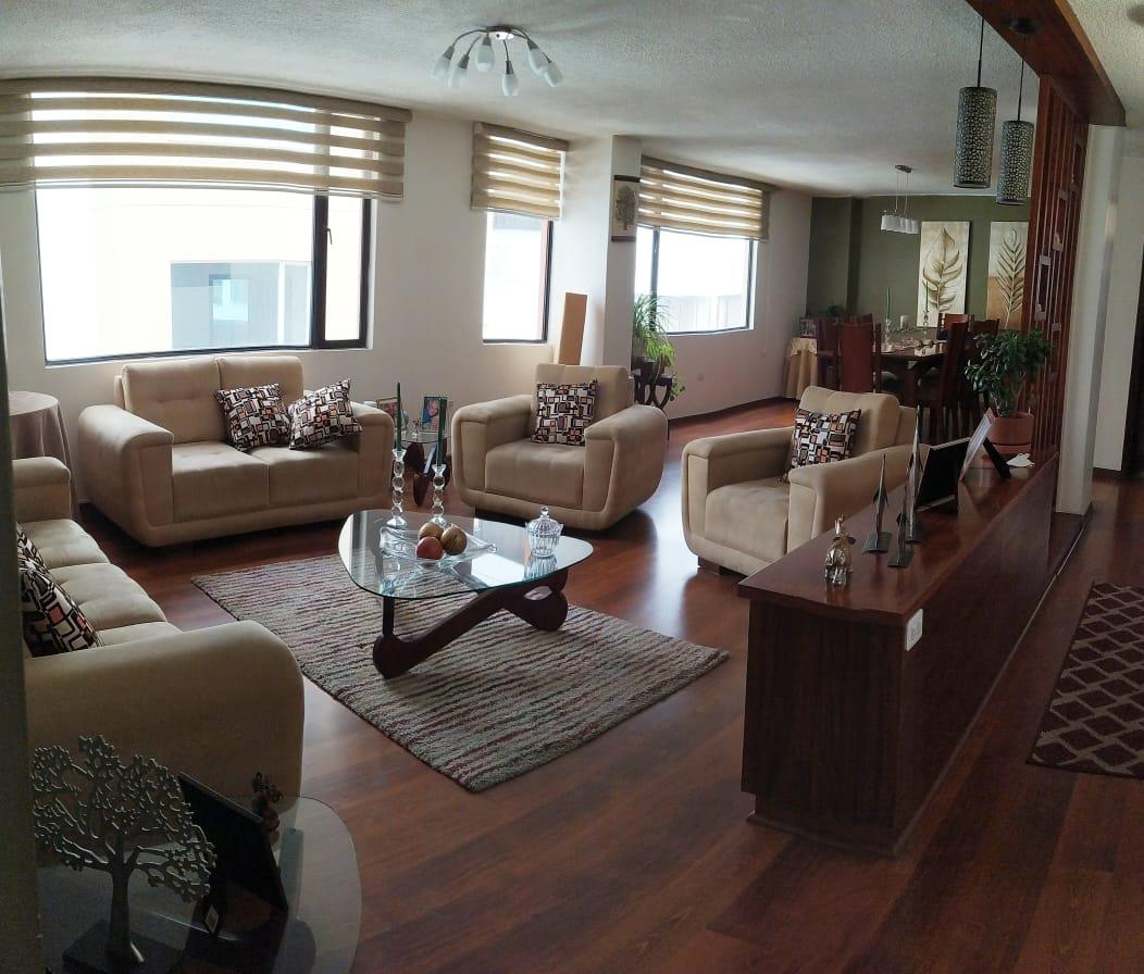Foto Departamento en Venta en  Quito Tenis,  Quito  VENTA DEPTO. 131,40m², 3 DORM. QUITO TENIS BAJO