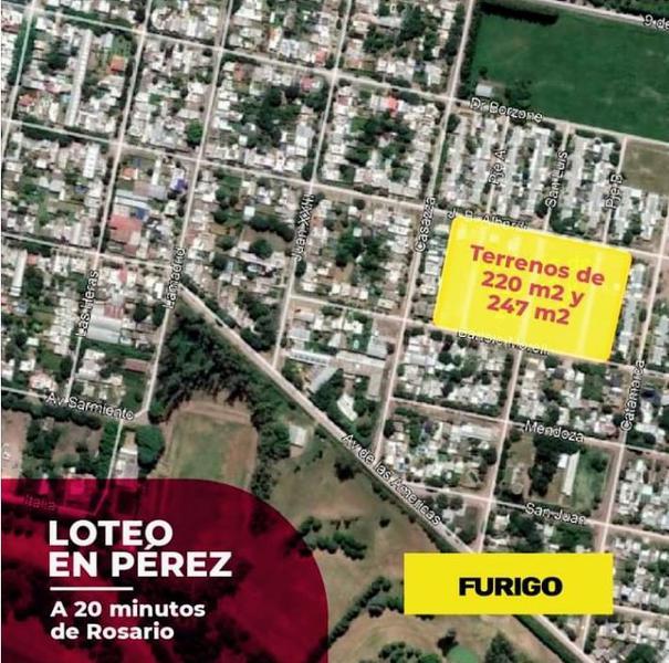 Foto Terreno en Venta en  Perez ,  Santa Fe  Morelli entre San Luis y Uspallata - Lote 47