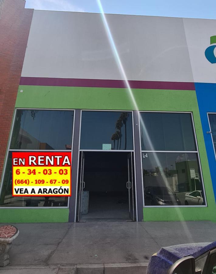 Foto Local en Renta en  Tijuana ,  Baja California Norte  RENTAMOS PRECIOSO LOCAL 103 MT2 #4  EN PLAZA EN LA MESA