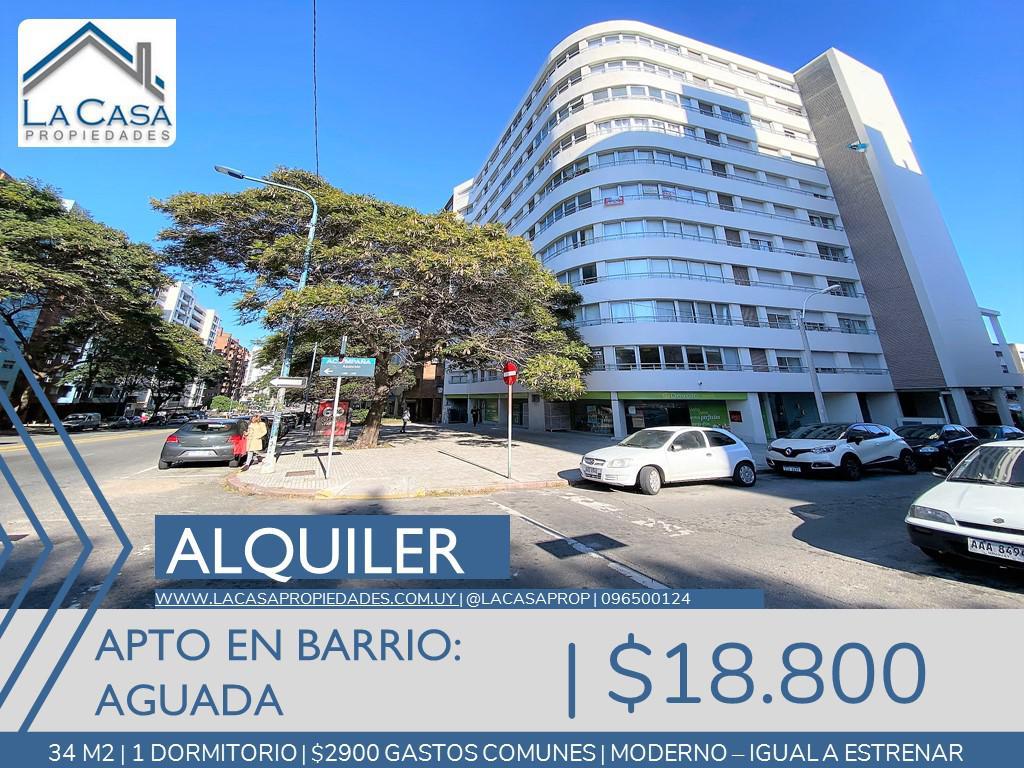Foto Apartamento en Alquiler en  Aguada ,  Montevideo  Asuncion al 1200