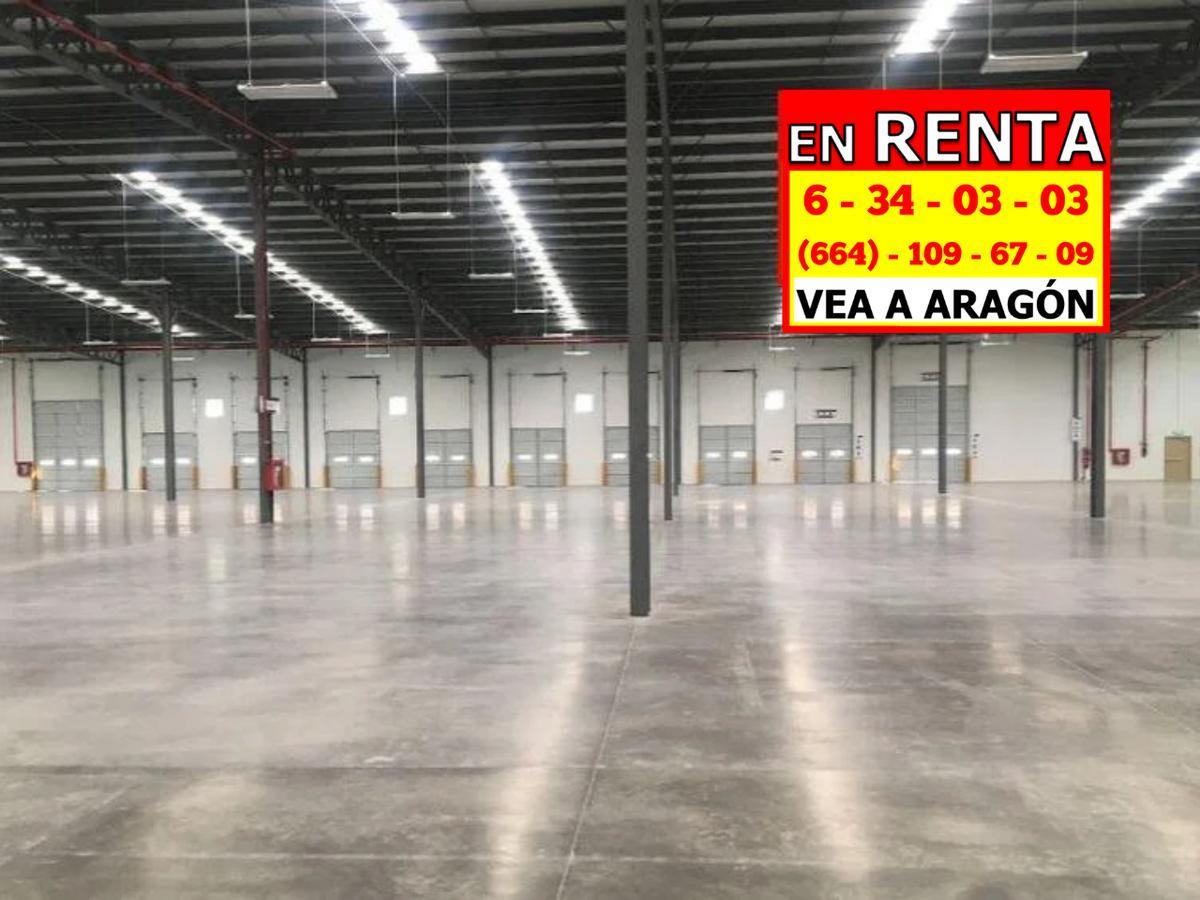 Foto Nave Industrial en Renta en  La Villa,  Tijuana  RENTAMOS MARAVILLOSA NAVE TOTALMENTE NUEVA 8,100 MTS2 ó 87,197 PIES2