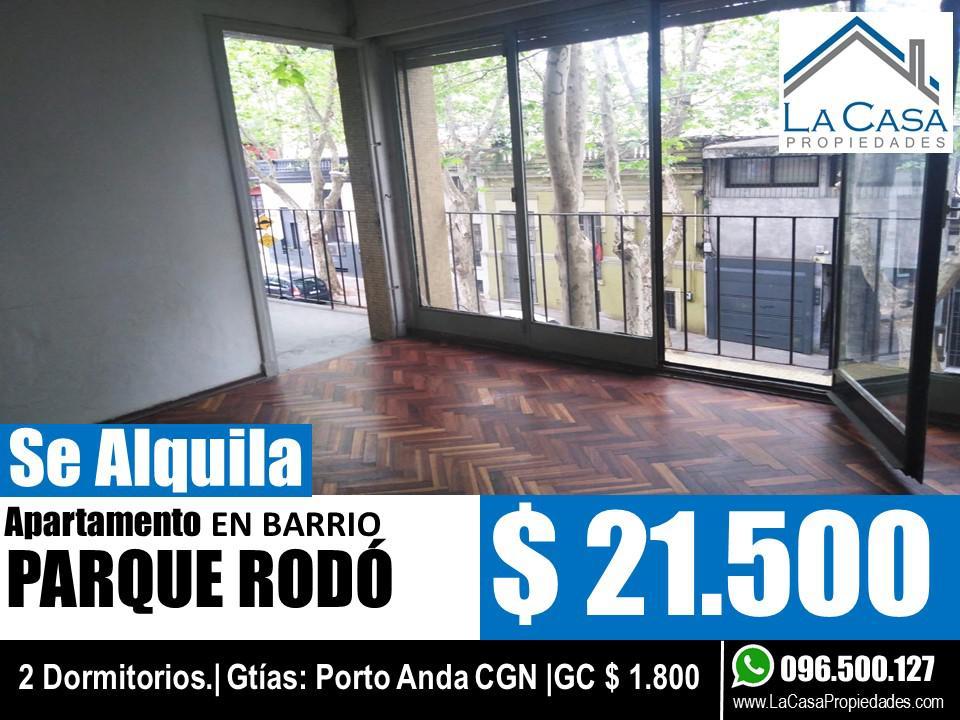 Foto Apartamento en Alquiler en  Parque Rodó ,  Montevideo  Salterain al 900