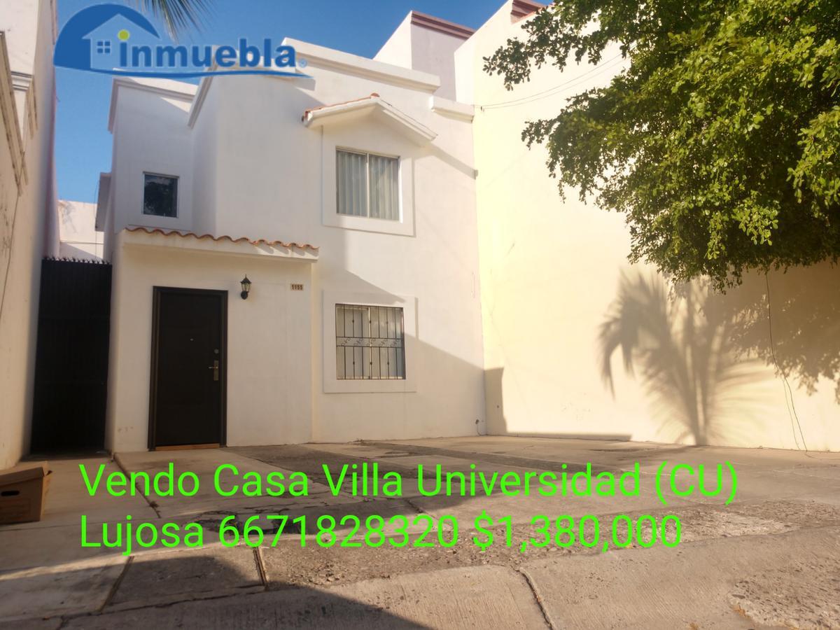 Foto Casa en Venta en  Fraccionamiento Residencial Hacienda,  Culiacán  Vendo Casa Villa Universidad Lujosa menos de 5 Mins de CU