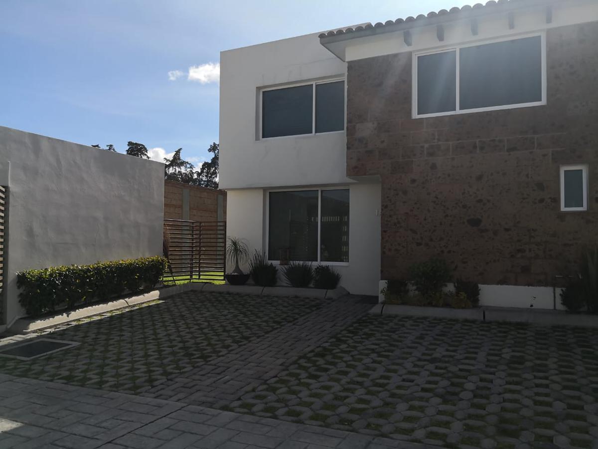 Foto Casa en Venta en  San Andrés Ocotlán,  Calimaya  Venta de Casa, Tres Recamaras, Fracc. Bosque de las Fuentes, Calimaya , Edo de México