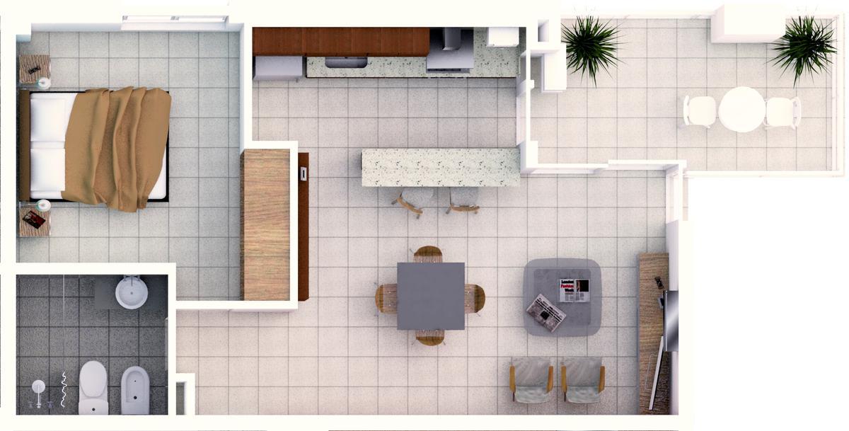 Foto Departamento en Venta en  Candioti Sur,  Santa Fe  Laprida 3337 - U 27 - 2° piso frente noreste