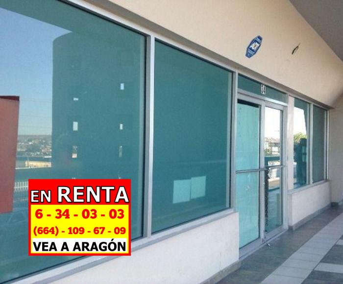 Foto Oficina en Renta en  Las Brisas,  Tijuana  RENTAMOS BONITA OFICINA SEMINUEVA 60 MTS2 ó 861.2 Ft² en 2do piso Bri E3-36