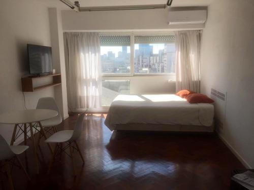 Foto Departamento en Alquiler temporario en  San Nicolas,  Centro (Capital Federal)  Corrientes 850.    Un amb. 25m2.