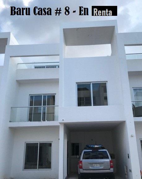 Foto Casa en condominio en Renta en  Zona Hotelera Sur,  Cozumel  Baru - Casa # 8 - En Renta !!!