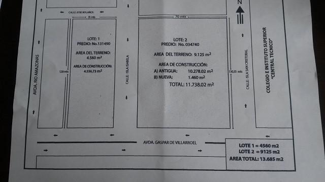 Foto Terreno en Venta en  Centro de Quito,  Quito  QUITO, VENTA 2 TERRENOS C/CONSTRUCCION EXCELENTE UBICACION 13,600M2