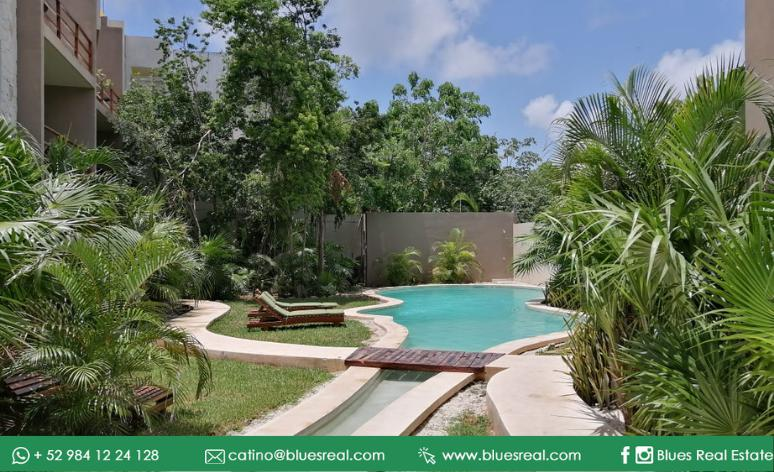 Picture Apartment in Rent in  Tulum ,  Quintana Roo  Apartment for rent in in Tulum, Quintana Roo at La Veleta condo | Code 973