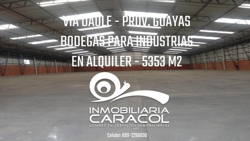 Foto Depósito en Alquiler en  Vía a la Costa,  Guayaquil  Via a la costa se alquila bodegas