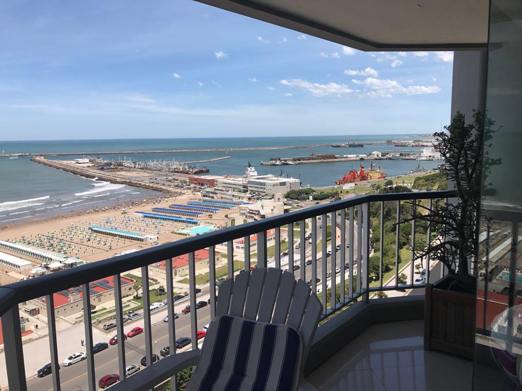Foto Departamento en Venta en  Playa Grande,  Mar Del Plata  BV MARITIMO 5700 • FRENTE AL MAR