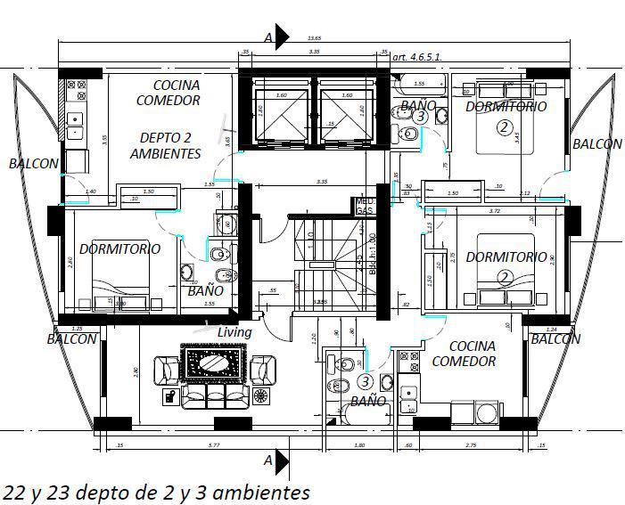 Foto Departamento en Venta en  Lomas De Zamora,  Lomas De Zamora  Almirante Brown 2973 Piso 22