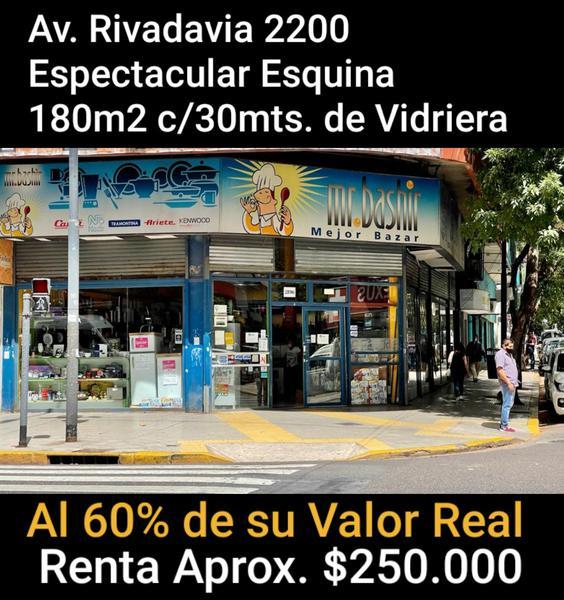 Foto Local en Venta en  Once ,  Capital Federal  AV. RIVADAVIA al 2200