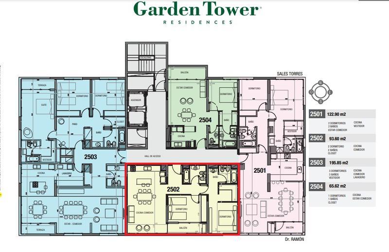 Foto Departamento en Venta | Alquiler en  Capital ,  Neuquen  GARDEN TOWER RESIDENCESS