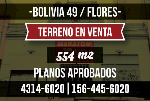 Foto Terreno en Venta en  Flores ,  Capital Federal  Bolivia al 100