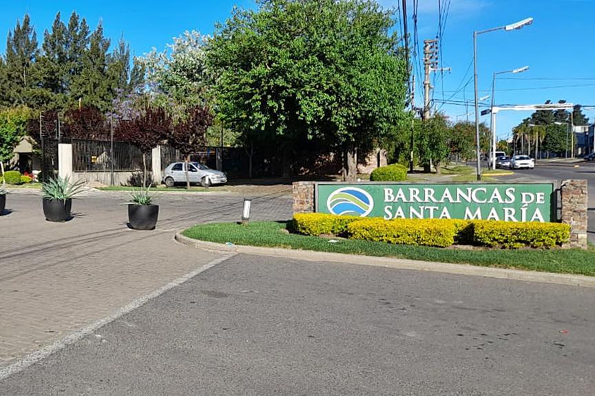 Foto Terreno en Venta en  Barrancas de Santa Maria,  Countries/B.Cerrado (Tigre)  Av. Constituyentes al 2300, Barrio Barrancas de Santa María