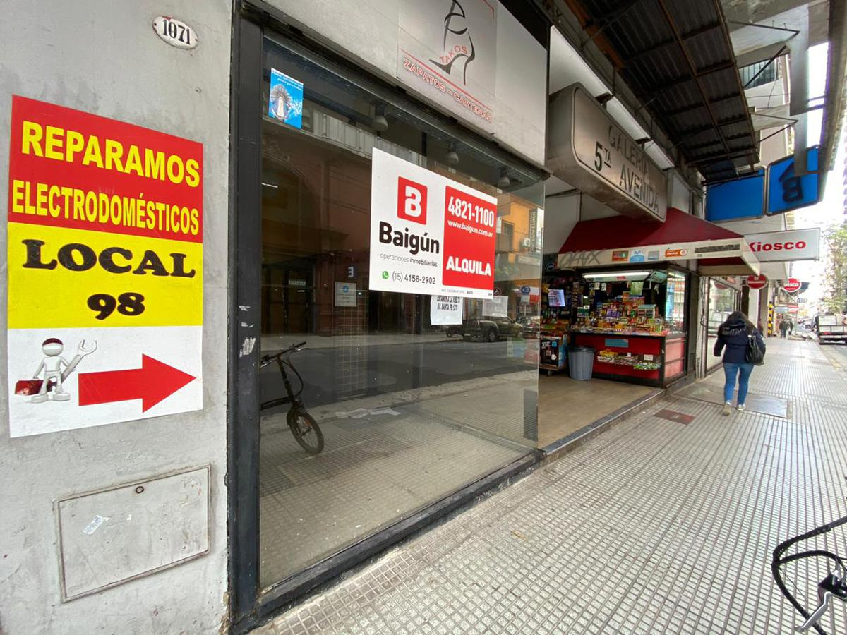 Talcahuano y Av. Santa Fe