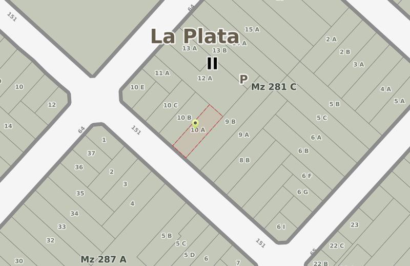 Foto Terreno en Venta en  Los Hornos,  La Plata  151 entre 64 y 65