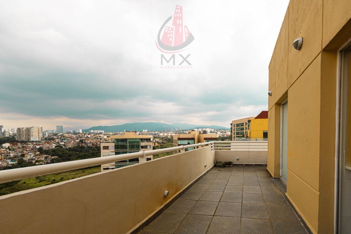Foto Departamento en Venta | Renta en  Hacienda de las Palmas,  Huixquilucan  PH con terraza en Residencial Cibeles