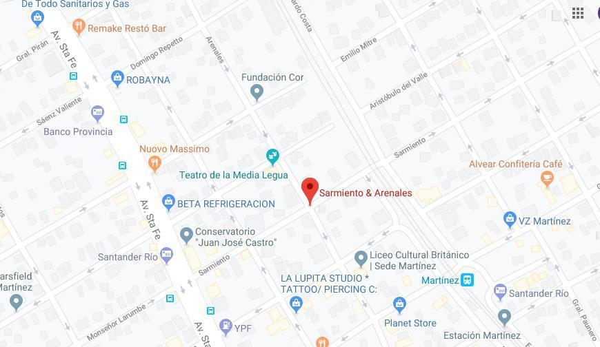 Foto Terreno en Venta en  Mart.-Vias/Santa Fe,  Martinez  Próximo a zona comercial Alvear y Albarellos