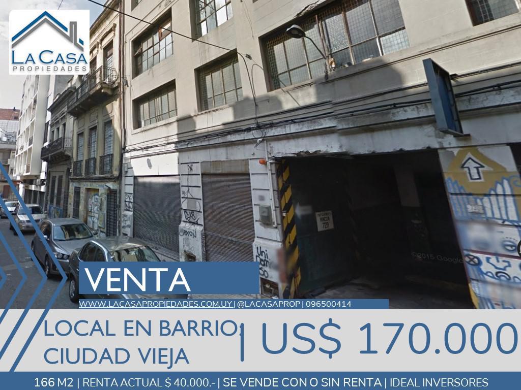 Foto Local en Venta en  Ciudad Vieja ,  Montevideo  Paraná al 700