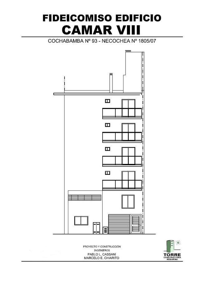 Foto Departamento en Venta en  República de la Sexta,  Rosario  Edificio Camar VIII 1 Dormitorio con Balcón