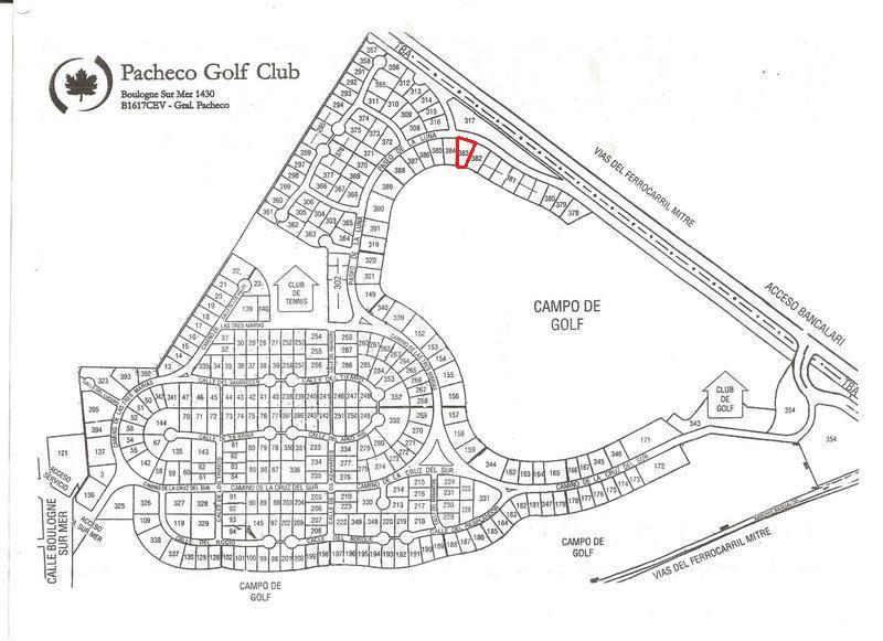 Terreno - Pacheco Golf-1