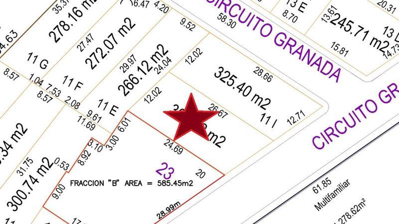 Foto Terreno en Venta en  Fraccionamiento Lomas del Sol,  Alvarado  LOMAS DEL SOL, Terreno en VENTA de 302.32 m2  (AR)