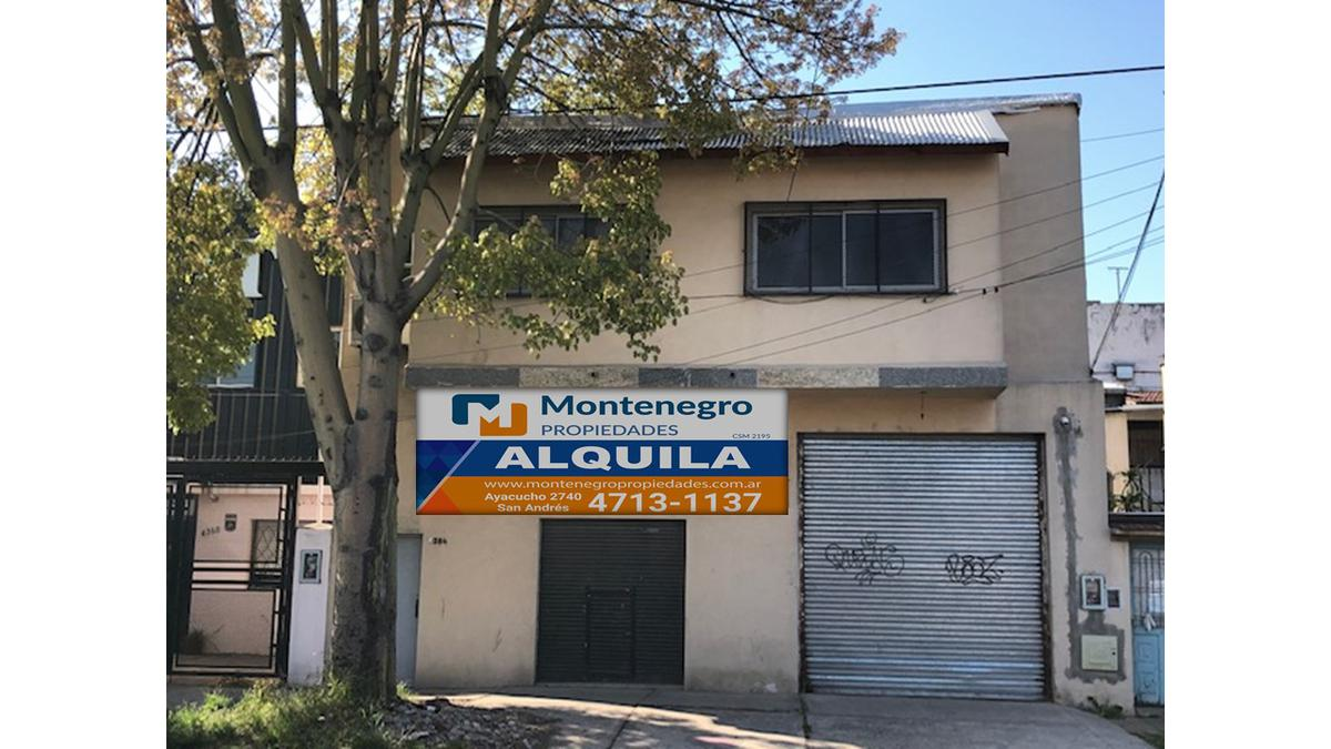 Foto Galpón en Alquiler en  Villa Ballester,  General San Martin  José Hernández Nº 4384