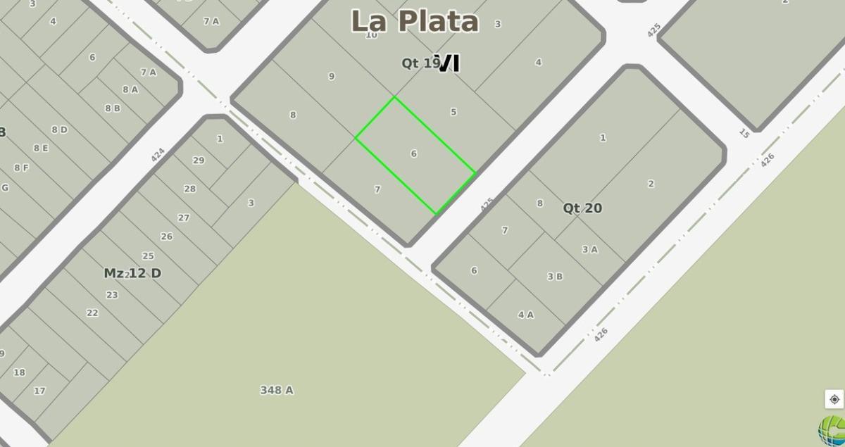 Foto Terreno en Venta en  Villa Elisa,  La Plata  425 entre 15 y 16