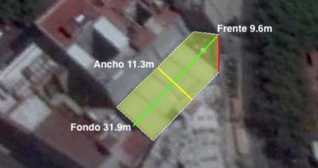 Foto Terreno en Venta en  Del Valle,  Benito Juárez  Terreno en venta. Colonia del Valle Sur