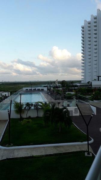 Foto Departamento en Renta en  Supermanzana 4 A,  Cancún  Departamento Amueblado Malecon Americas Cancun, 2 Recamaras, Piscina,