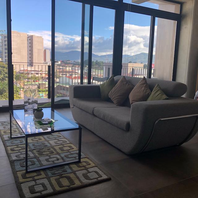 Foto Departamento en Renta en  Mata Redonda,  San José  Rorhmoser / Nunciatura/ Loft 75m2 / Vistas / Exclusivo
