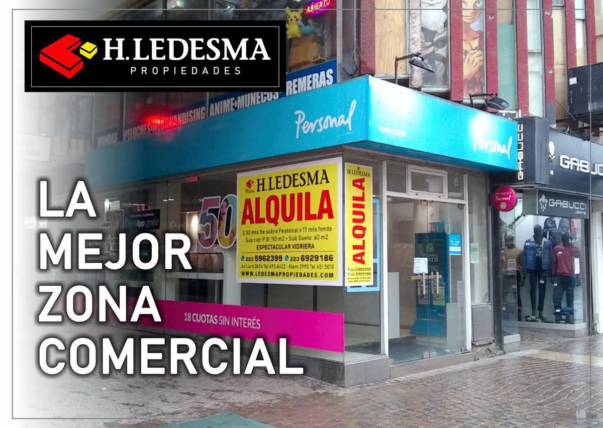 Foto Local en Alquiler | Venta en  Centro,  Mar Del Plata  PEATONAL Y CORDOBA