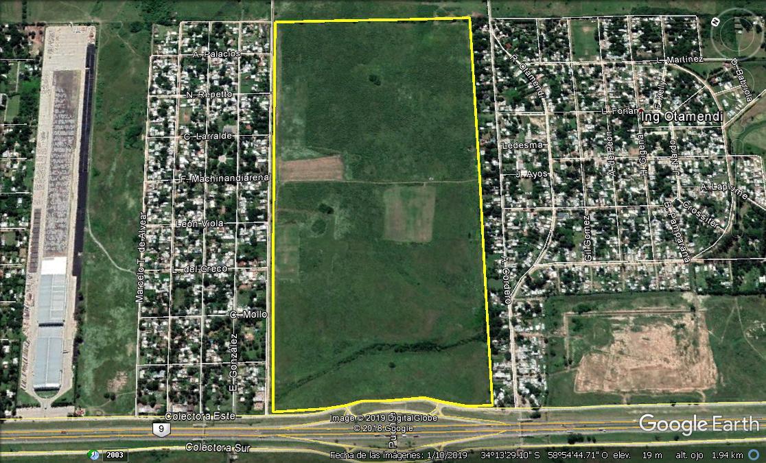 Foto Campo en Venta en  Campana ,  G.B.A. Zona Norte  Fracción Única de 74 Has. Sobre Panamericana, a 70 km de CABA