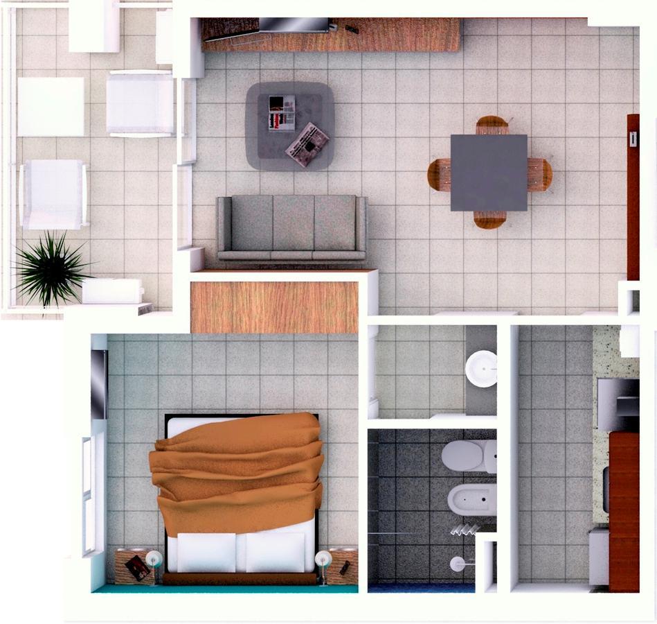 Foto Departamento en Venta en  Candioti Sur,  Santa Fe  Laprida 3337 - U 36 - 4° piso contrafrente