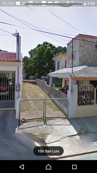 Foto Terreno en Venta en  Aurora,  Tampico  Terreno en venta Col. Aurora