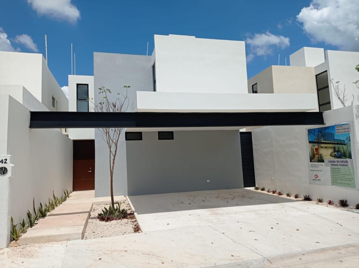 Foto Casa en Venta en  Pueblo Conkal,  Conkal  Casa en Privada Zendera