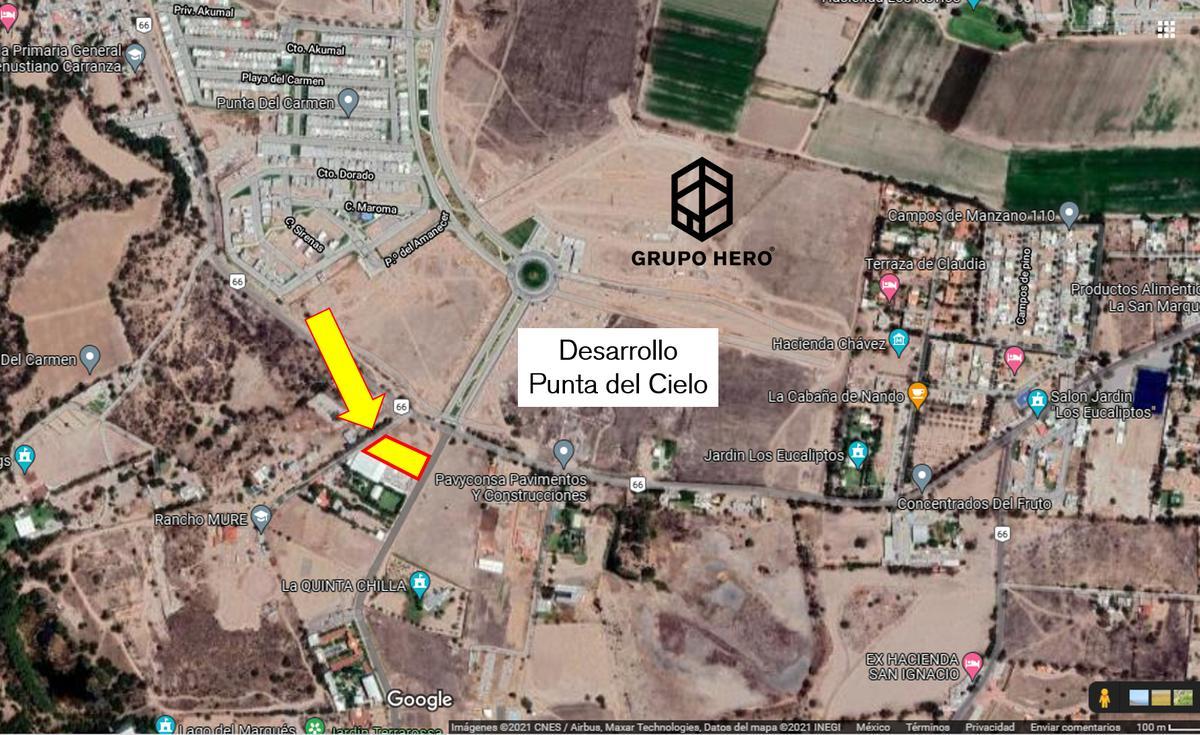 Foto Terreno en Renta en  Aguascalientes ,  Aguascalientes  Terreno en Venta al Poniente Tecnopolo Aguascalientes