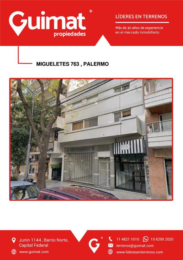 Foto Terreno en Venta en  Palermo ,  Capital Federal  MIGUELETES al 700