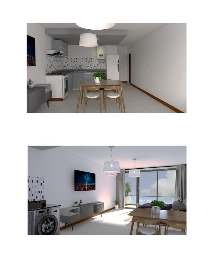 Departamento monoambientes tipo loft divisibles con radiadores - San Juan al 1000