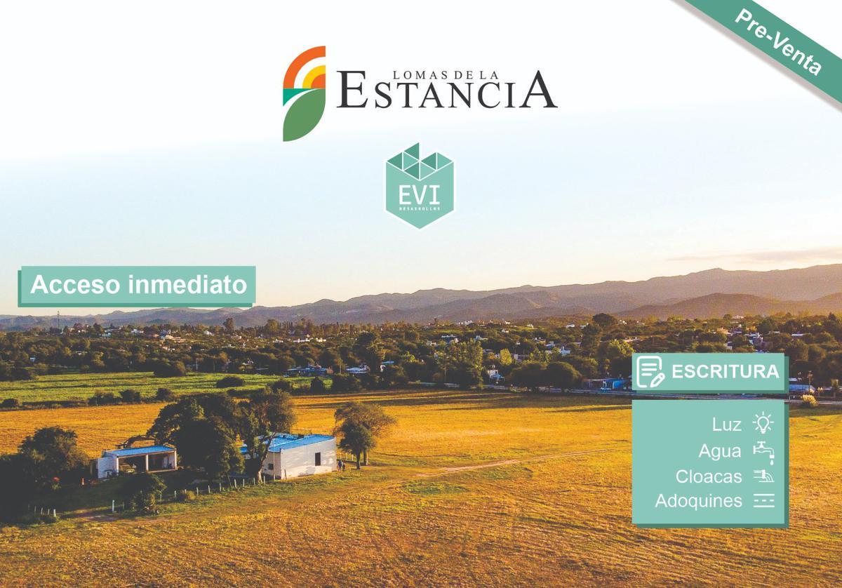 Foto Terreno en Venta en  Alta Gracia,  Santa Maria  Venta Terreno Lomas de la Estancia - Alta Gracia - Cordoba